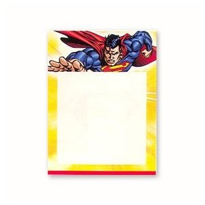 Superman Birthday Party Birthday Invitations/Note Cards.