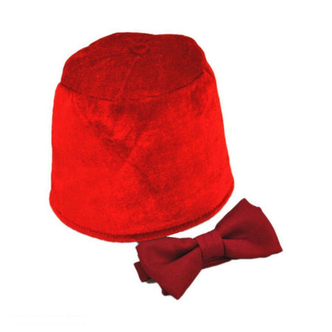 11th Doctor Who Fez and Bow Tie Accessory Kit