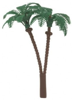Twin Palm Tree Cake Toppers - Set of 2