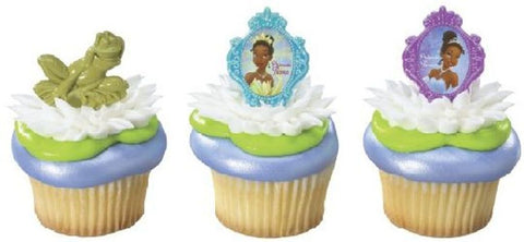 18 Disney Princess & the Frog Cupcake Rings