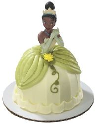 Disney Princess & the Frog Tiana Petite Decoset Cake Topper