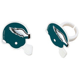 24 NFL Seattle Seahawks Football Helmet Cupcake Topper Rings