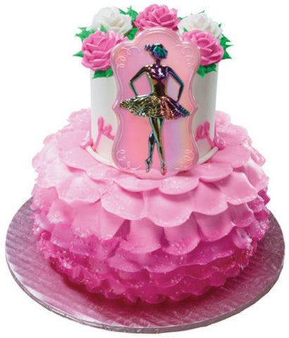 Ballet Ballerina Dancer Layon Cake Topper