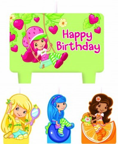 Strawberry Shortcake & Friends Candle Set