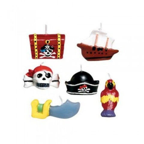 Pirates Treasure Mini Candle Set