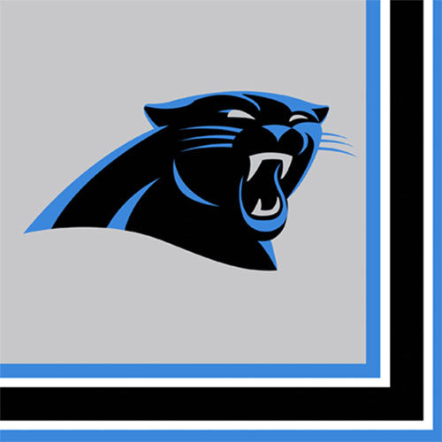 NFL Carolina Panthers Lunch Napkins Party Supplies