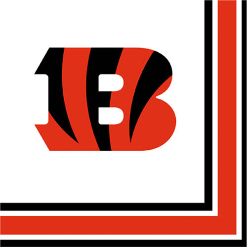 NFL Cincinnati Bengals Lunch Napkins Party Supplies