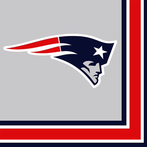 NFL New England Patriots Lunch Napkins Party Supplies