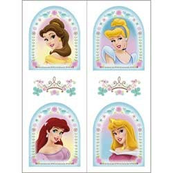 Disney Princess Birthday Party Tattoos