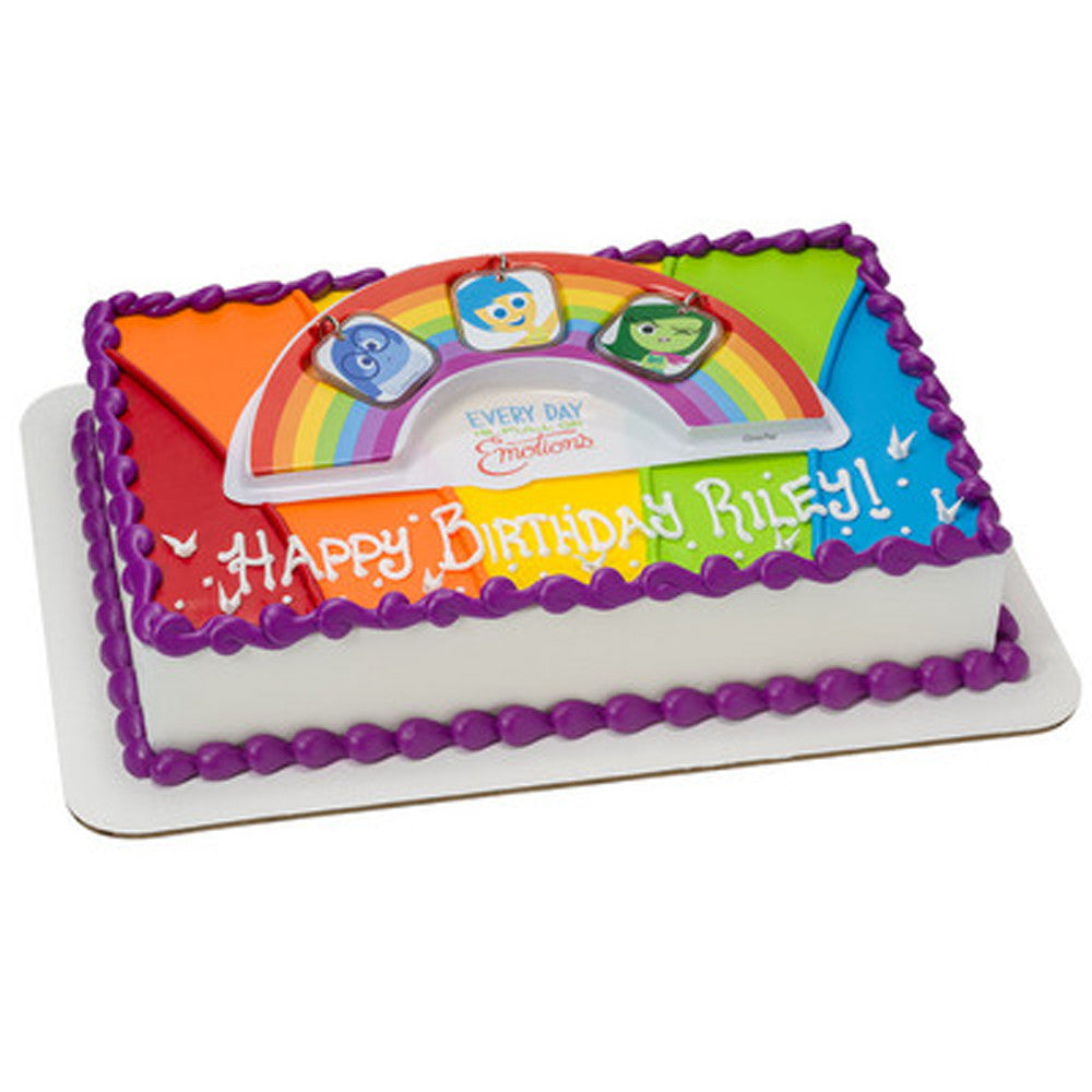 Inside Out Full of Emotions Cake Topper