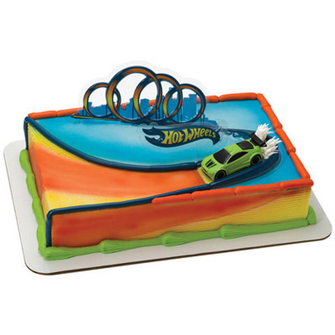Hot Wheels Drift Cake Topper