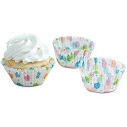 Casual Eggs Easter Baking Cups
