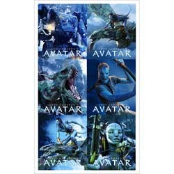 Avatar Party Stickers