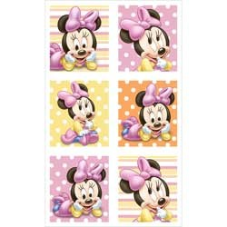 Minnie Mouse Baby Party Stickers