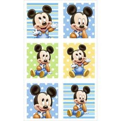 Mickey Mouse Baby Party Stickers