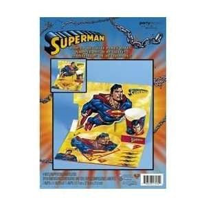 Superman Birthday Party Birthday Pop-Up Activity Place Mats