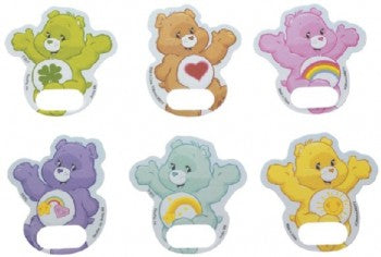 12 Care Bears Finger Puppet Poly Cupcake Toppers