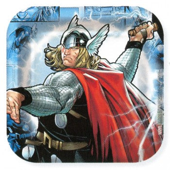 Thor The Mighty Avenger Dessert Plates