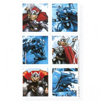 Thor The Mighty Avenger Birthday Party Stickers