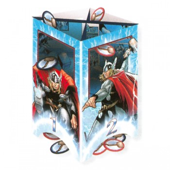 Marvel Mighty Avenger Thor Battle Toss Party Game