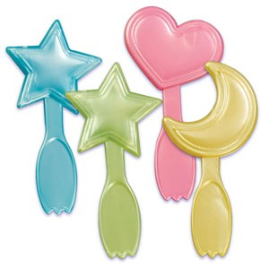 24 Baby Icon Spoon Cupcake Picks