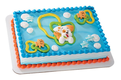 Bubble Guppies Edible Sugar Cake Decorations