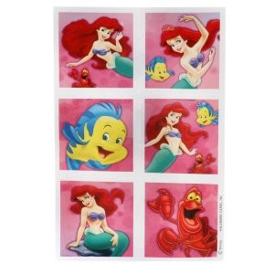 Disney The Little Mermaid Princess Ariel Stickers