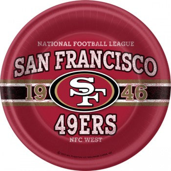 NFL San Francisco 49ers Dinner Plates