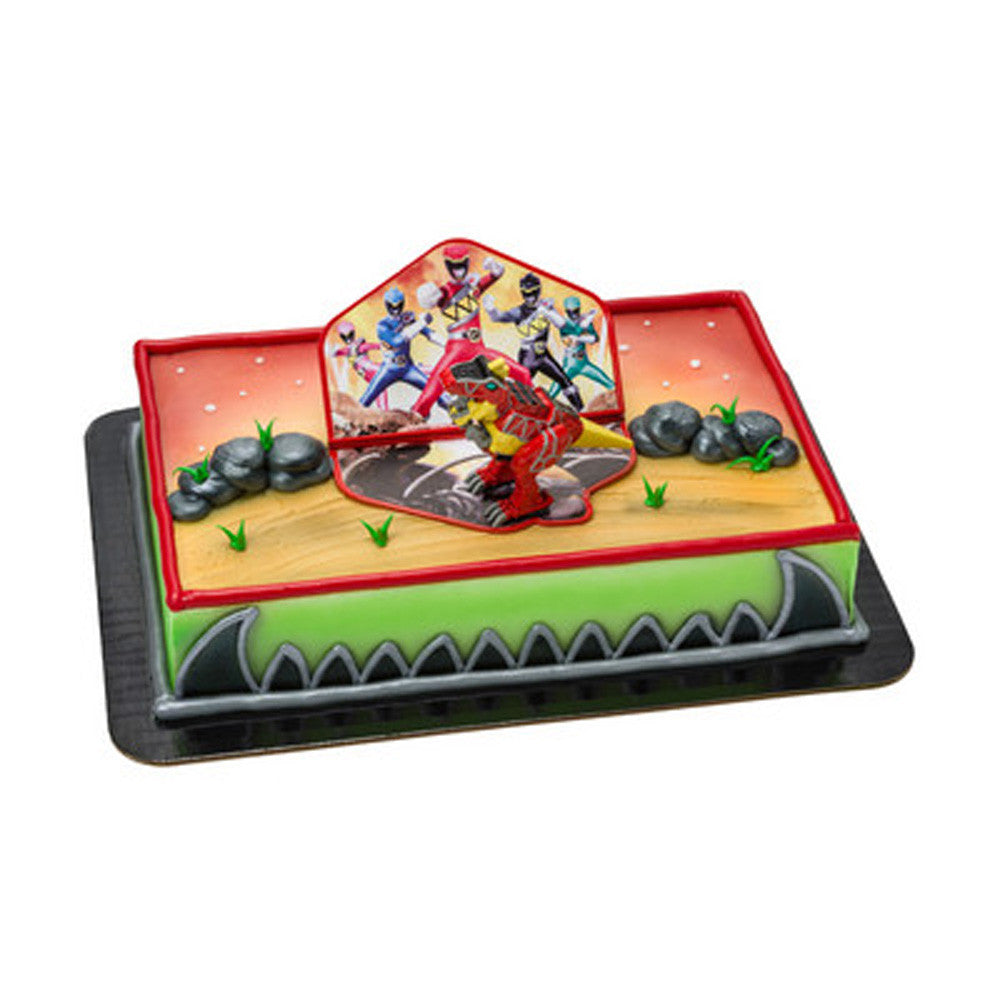 Power Rangers Dino Charge Red Zord Cake Topper