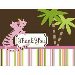 Queen of the Jungle Thank You Notes