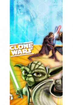 Star Wars The Clone Wars Opposing Forces Tablecover
