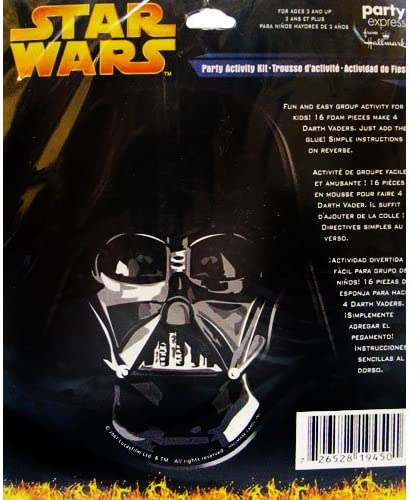 Star Wars Darth Vaders Party Craft Kit