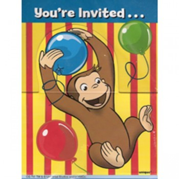 Curious George Invites