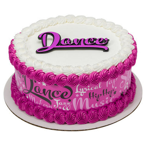 Dance Layon Cake Topper