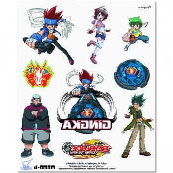 Beyblade Temporary Tattoos