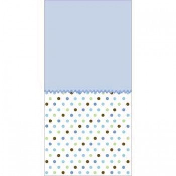Tickled Blue Baby Shower Tablecover
