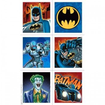 Batman Birthday Party Stickers