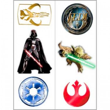 Star Wars Birthday Party Tattoos