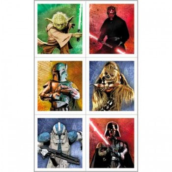 Star Wars Birthday Party Stickers