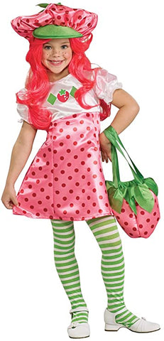 Strawberry Shortcake Children's Costume - Size Small (4-6) - For ages 3-4