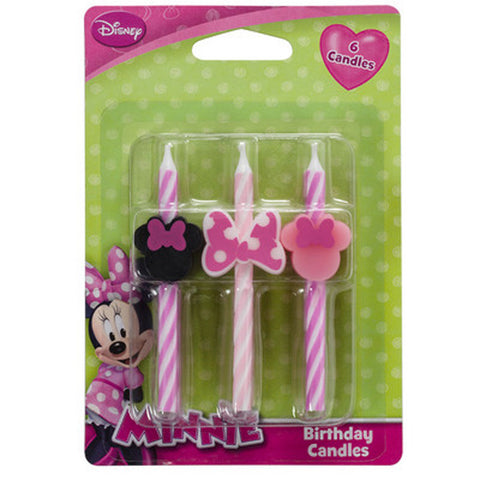 Minnie Mouse Icon Candles