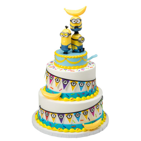 Minions Celebrate! Cake Topper Decor Signature Kit