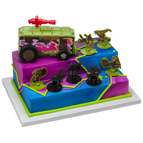 Teenage Mutant Ninja Turtles Stomp the Foot Deluxe Cake Topper