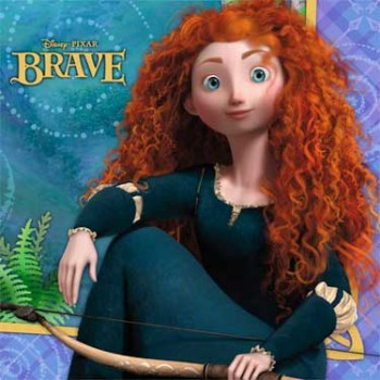 Brave Luncheon Napkins