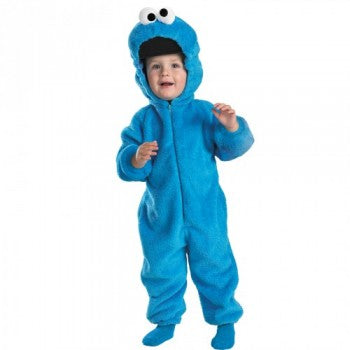 Sesame Street Cookie Monster Deluxe Toddler Costume - Size M (3T-4T)