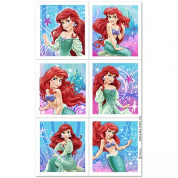 Disney The Little Mermaid Party Stickers