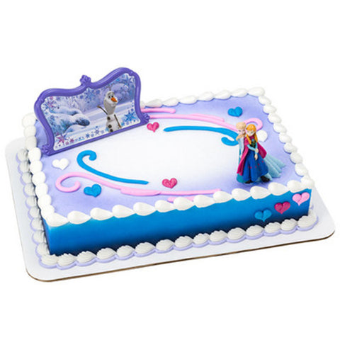 Frozen Follow Your Heart Cake Topper Bling Your Cake