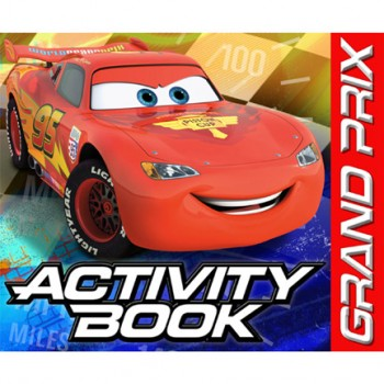 Disney Cars Grand Prix Dream Party Activity Books
