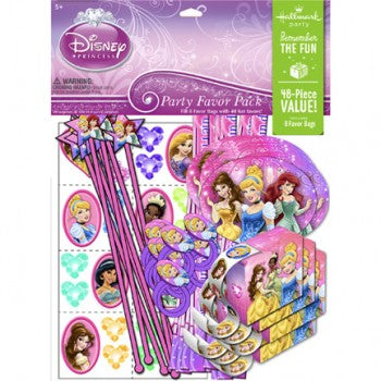 Disney (VIP) Very Important Princess Dream Party Favor Pack