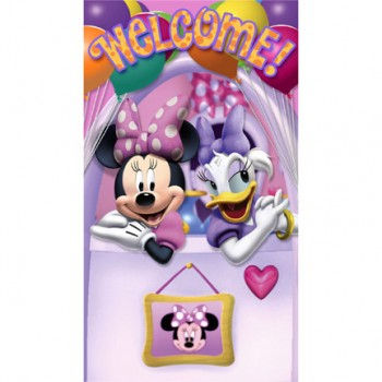 Minnie and Daisy Bow-tique Dream Party Door Banner